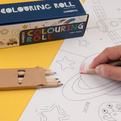 COLOURING ROLL SPACE TRAVEL