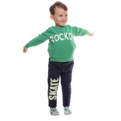 ROCK ON BASKILI ERKEK ÇOCUK SWEATSHIRT